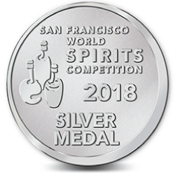 San Francisco World Spirits Competition 2018 Silver Medal