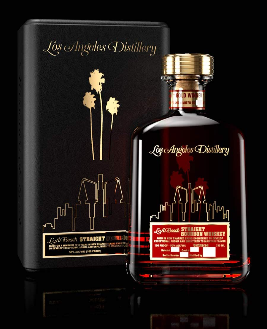 Los Angeles Craft Distillery's Straight Bourbon Whiskey Collector's Edition