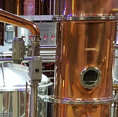 Los Angeles Craft Distillery uses modern and traditional distilling techniques.
