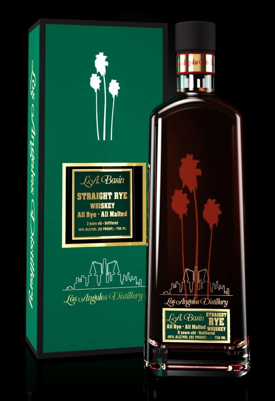 LA Basin All Rye All Malted Rye Whiskey